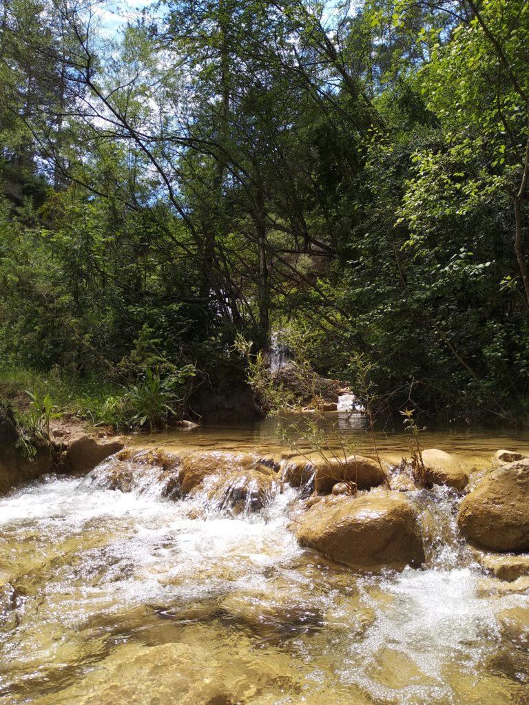 Primera cascada de els 7 gorgs