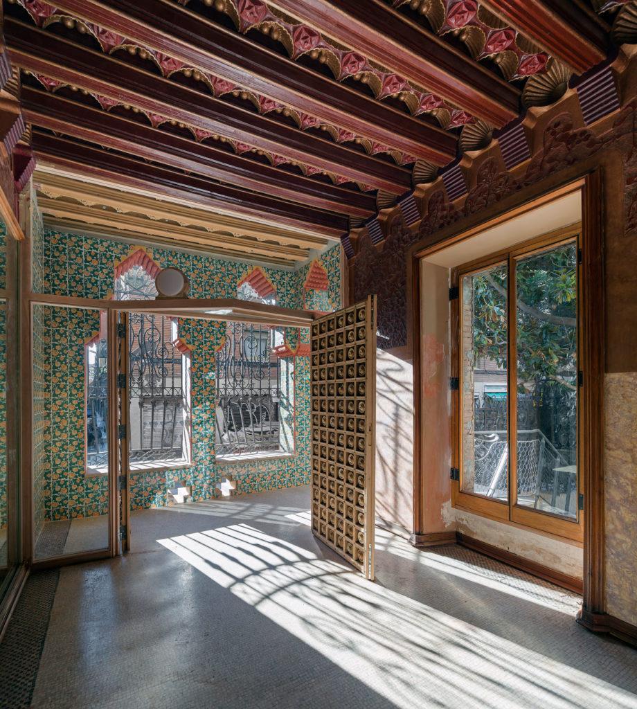 Casa Vicens en su interior