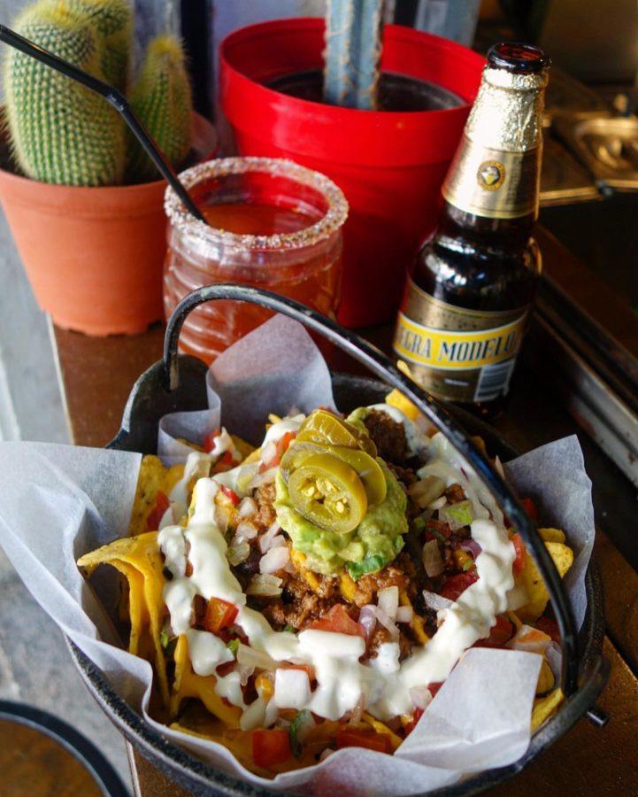 Nachos del restaurante mexicano Pikio Taco