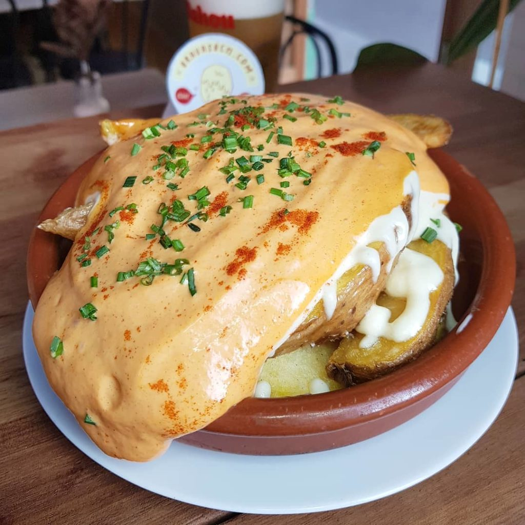 Patatas bravas publicadas por Bravas Barcelona