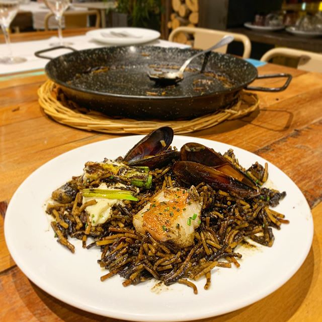 Restaurantes de Barcelona en Instagram que publican arroz y fideua