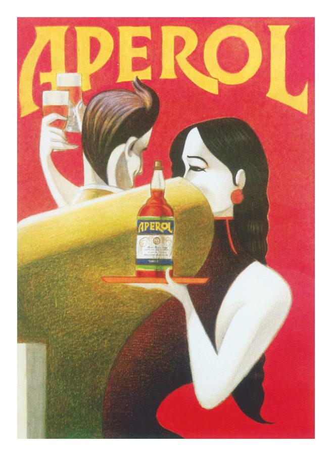 Anuncio de Aperol Spritz de 1980