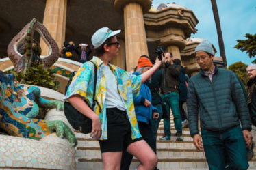 Postales de Barcelona para los turistas