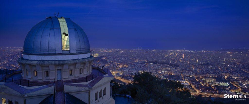 Observatorio Fabra donde se realiza la Cena con las Estrellas en Barcelona