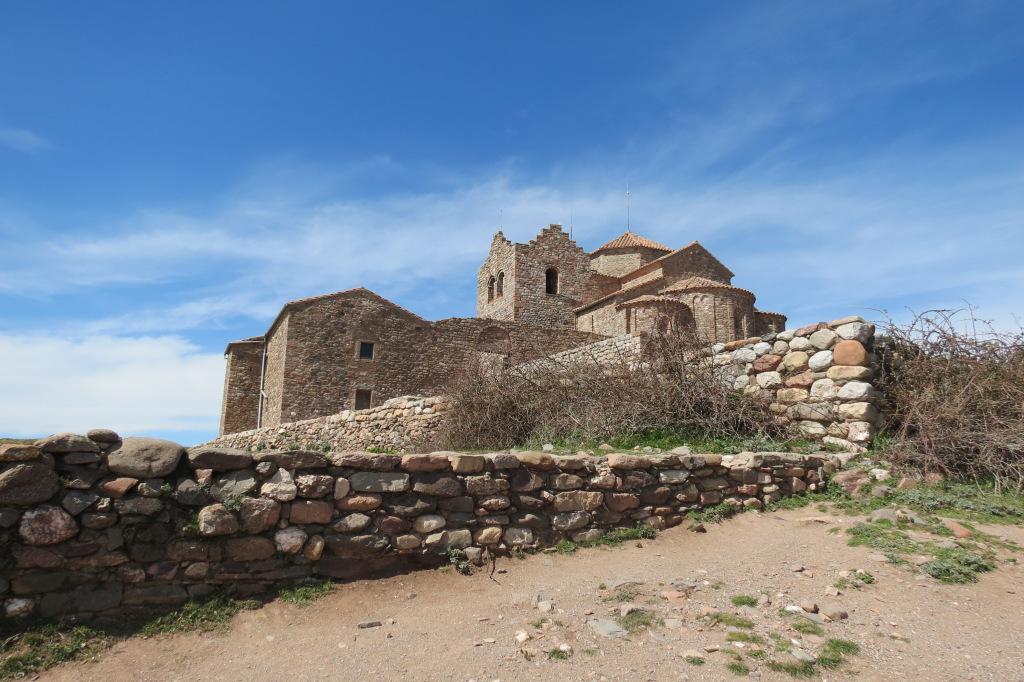 Monasterio de Sant Llorenç de Munt en La Mola