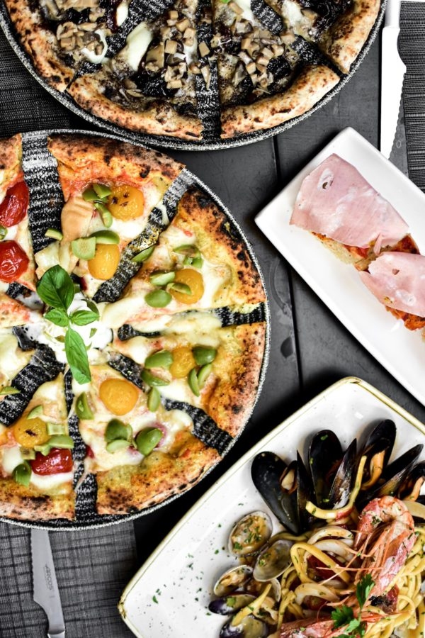 Platos de Gusto Restaurant, pizzería italiana en Barcelona