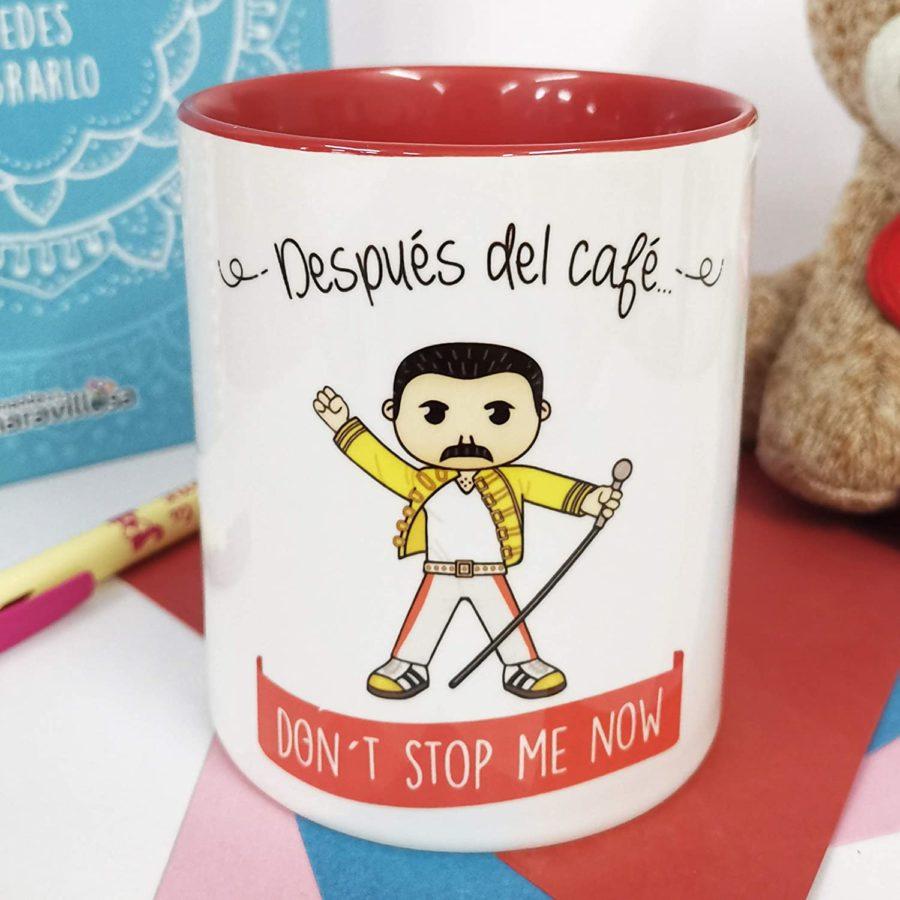 taza de queen y taza de Freddie mercury