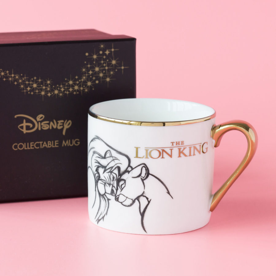 taza del rey león para la oficina es una de las tazas bonitas para tomar café en la oficina