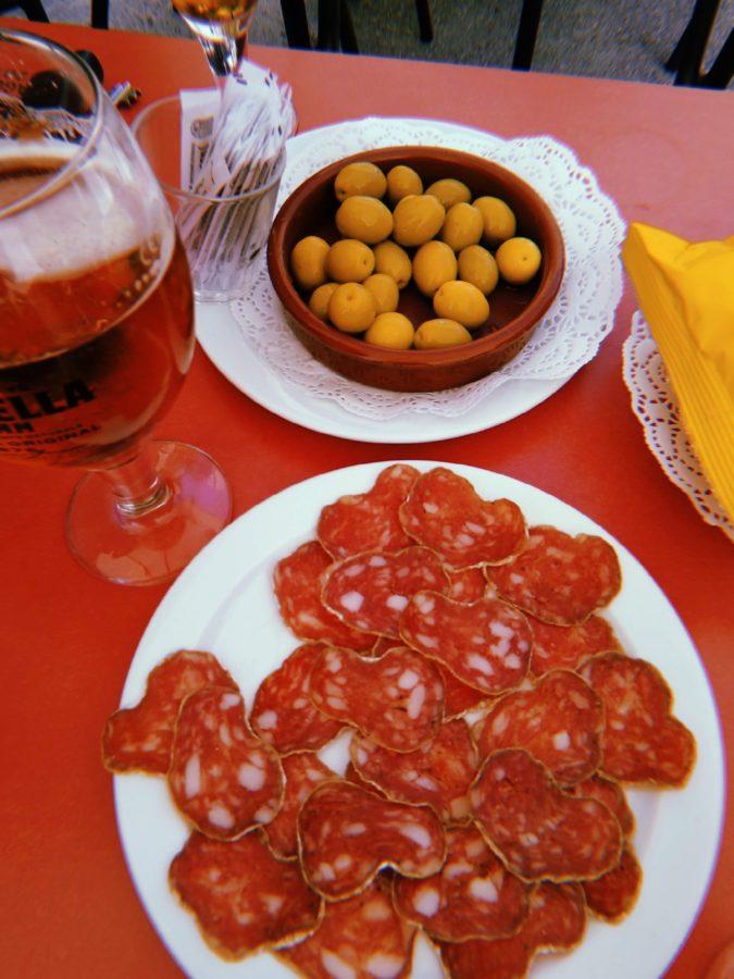 Embutidos del Restaurant Fussimanya