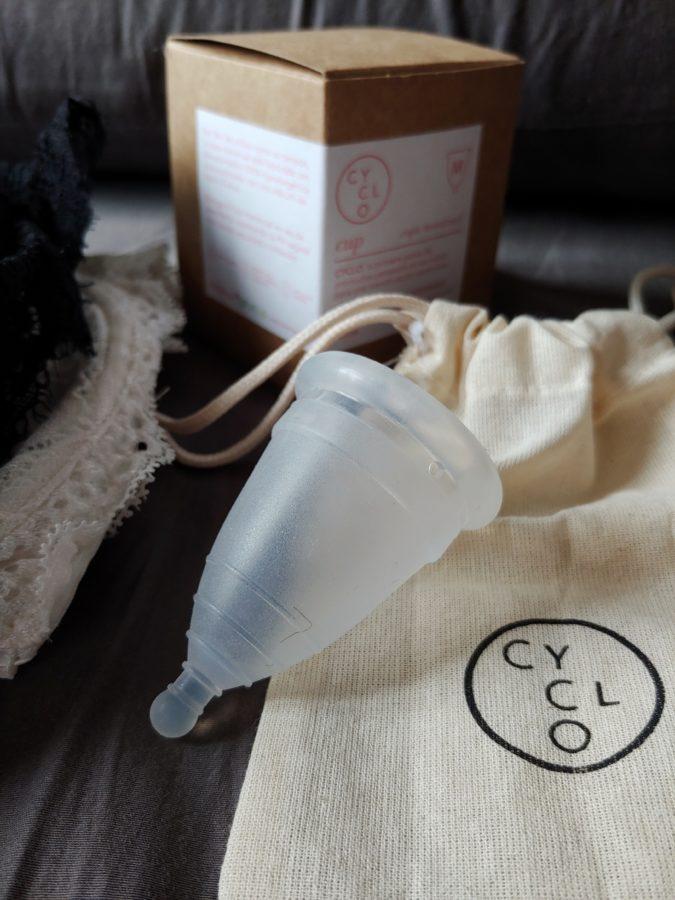 copa menstrual de CYCLO