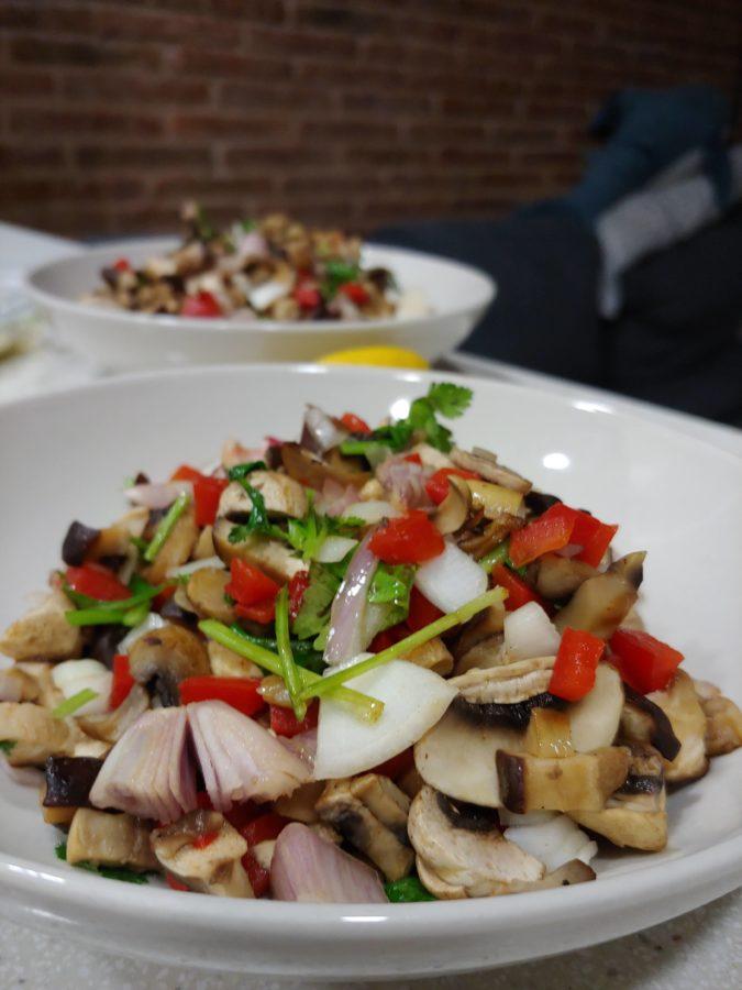 Foodinthebox ingredientes y recetas sanas como la del ceviche de shiitake y champiñones
