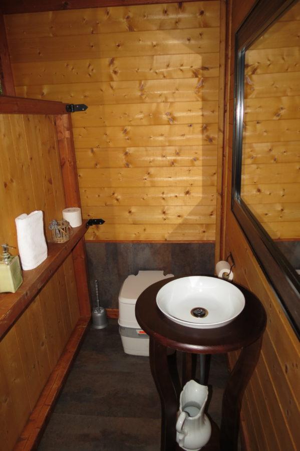WC químico en las Cabanes Dosrius