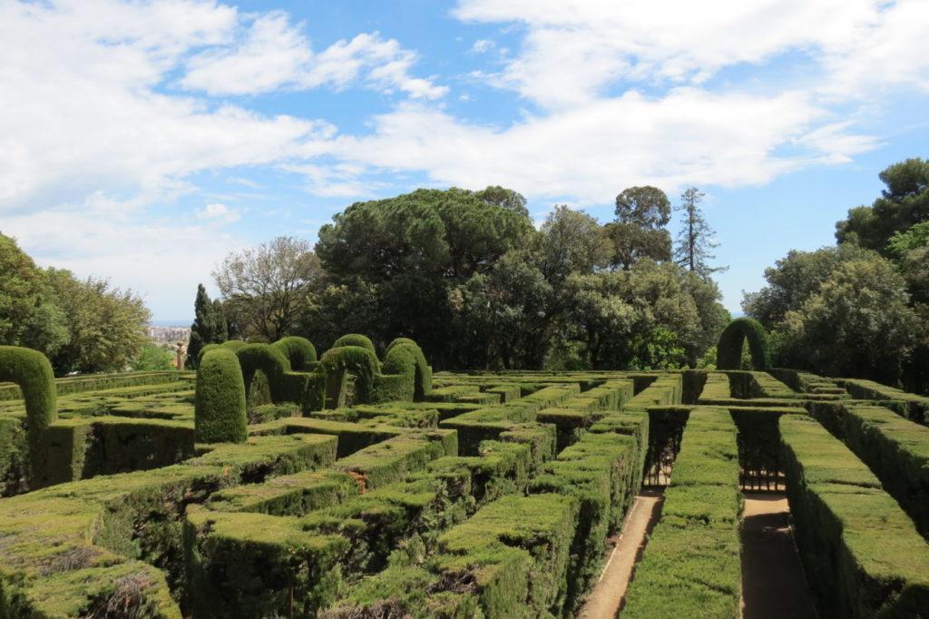 Así es el Laberinto del Parque del Laberinto de Horta en Barcelona